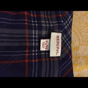 Sheer Plaid Merona Shirt